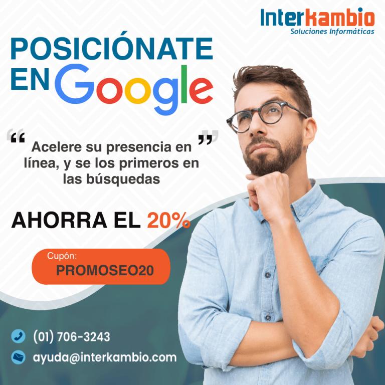 Posicionate en Google