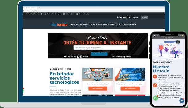 Ejemplo de Diseño y Desarrollo Web
